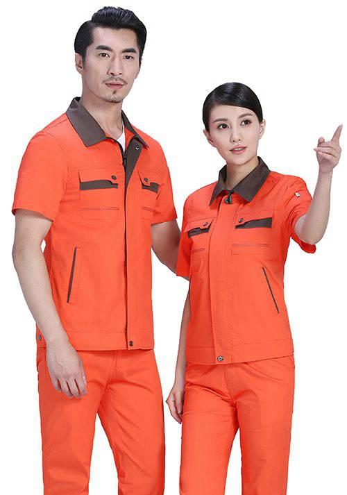 半袖工装服