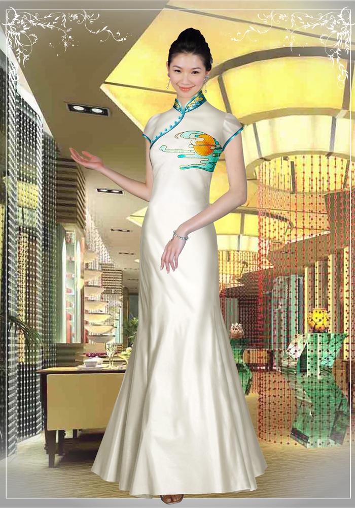 北京定做旗袍—展现东方女性魅力的神奇战甲