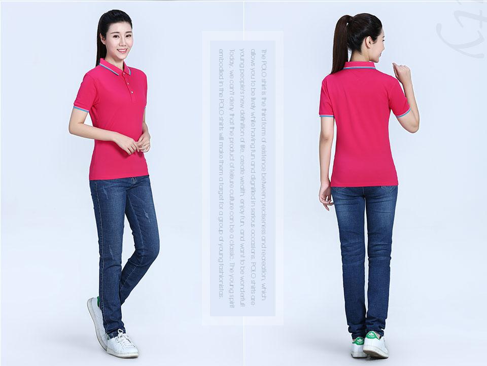 黑色Polo衫短袖T恤