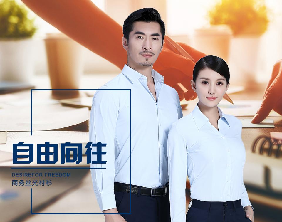 2019新款衬衫浅蓝女浅蓝商务长袖衬衫