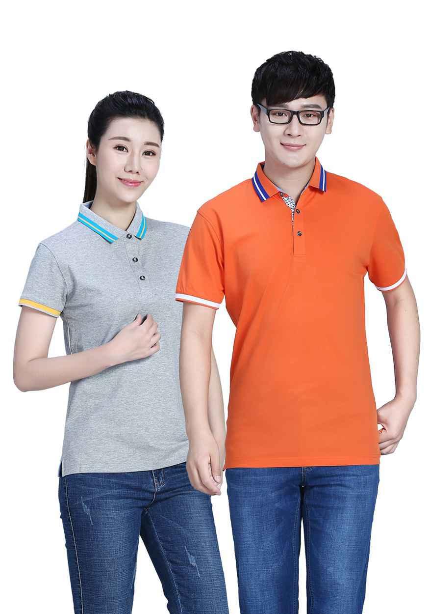 T恤定制领子有哪几种?定制T恤选择圆领还是V领好看?